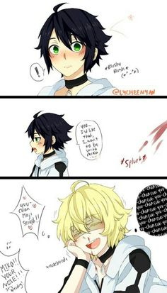 Mika and yuu page 2 little doujin owari no seraph / seraph of the end yaoi
