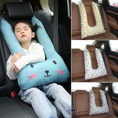 U Shaped Car Headrest Travel Pillow- Head Support Cushion – Carsoda