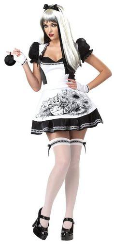 Amazon.com: California Costumes Dark Alice Adult Costume: Clothing