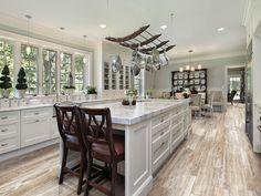 Galleries - Paramount Flooring Tile that looks like hardwood!