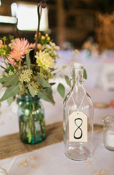 table numbers @weddingchicks