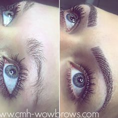 Eyebrow tattooing Feather touch Microblading Hair stroke Cosmetic tattooing