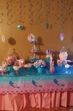 20 Best The Little Mermaid Candy Table Images Candy Boxes Candy