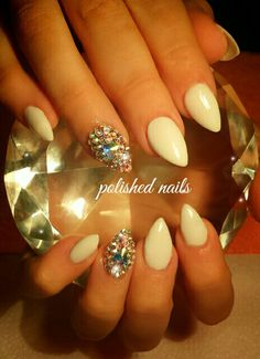 Acrylics and bling