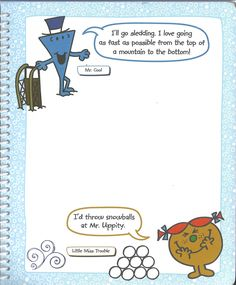 Mr. Men Little Miss: All Year Round - Groundhog Day (Page 2) #mrmenlittlemiss #mmlm #mrmenlittlemissallyearround #allyearround #mmlmallyearround #groundhogday #groundhog_day Mr Men Little Miss, All Year Round, Groundhog Day, Comics, Cool Stuff, My Love, Comic Book, Cartoons, Comic Books
