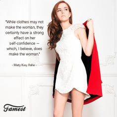 #fashion #quote #famousquotes #marykayashe #zoeydeutch #clothes #style #woman
