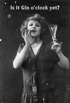 It's always gin o'clock somewhere...