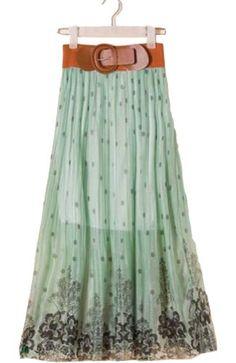 Pleated Was Thin Bohemia Long Skirt With Belt WF-5080 Fengbay http://www.amazon.com/dp/B00GYM2DOE/ref=cm_sw_r_pi_dp_Piliub0WJ6NDZ