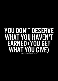 GIVE...when you do something out of love, you don't count the cost.