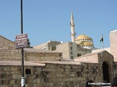 Visit Jordan First Impressions - Church or Mosque? - from the streets of Madaba, Jordan