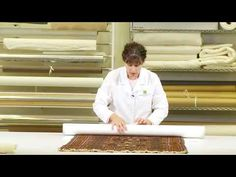 Rolling Textiles on a Tube - (Part 6 of 6) Conservation and Preservation of Heirloom Textiles