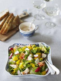 Fisk- og skalldyrsbuffe - nydelig festmåltid | Oppskrift Aioli, Fresh Rolls, Grilling, Mango, Mexican, Ethnic Recipes, Discovery, Food, Manga