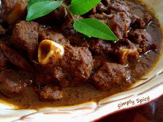 Simply Spicy: Mangalorian Mutton Curry