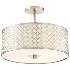 Dots Semi Flush Ceiling Light