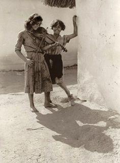 Playing gypsies