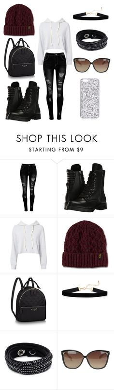 """""""bts"""" by gomezelijey6 ❤ liked on Polyvore featuring Capezio, Monrow, Dr. Martens, Swarovski and Linda Farrow"""