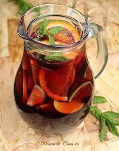 Sangria Juice Drinks, Smoothie Drinks, Cocktail Drinks, Healthy Smoothies, Happy Drink, Tea Cafe, Long Drink, Good Food, Yummy Food