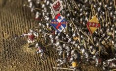 ARTICLE:  Battle of Agincourt diorama to find a permanent home at the Royal Armouries Museum in Leeds. Read more at Warfare Magazine http://www.warfaremagazine.co.uk/articles/battle-of-agincourt-model-to-find-permanent-home-at-the-royal-armouries-museum/190