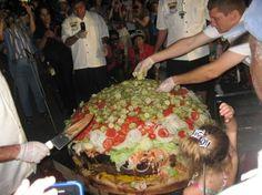 World's largest hamb