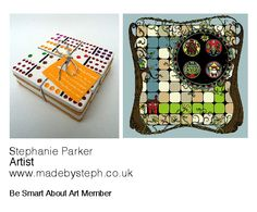 Stephanie Parker, Artist.  www.madebysteph.co.uk