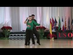 Luis Crespo and Joanna Meinl U.S. Open Swing Dance Championships Sophisticated Swing Division 2012
