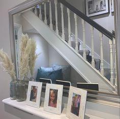 Hallway with beautiful stairway #hallway