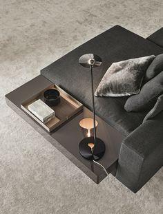 Minotti White | Design bank | Van der Donk interieur Gorinchem.