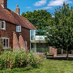 Looking for glass extension ideas? Our gallery covers everything from modern box extensions to traditional designs in keeping with period features. Traditional Lighting, Traditional Design, Glass Extension, Extension Ideas, Hut Images, Glass Structure, Roof Window, Modern Glass, East Sussex