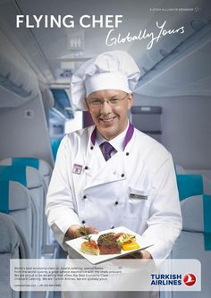 Flying Chef! #TurkishAirlines #airlines