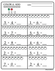 15+ Kindergarten math worksheets pdf files to download for FREE