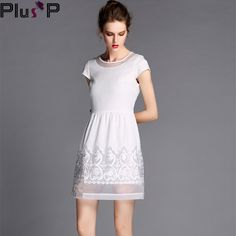 L XL XXL XXXL 4XL 5XL Women Dress Plus size women clothing Party dresses  new 2014 d5cc0365d33