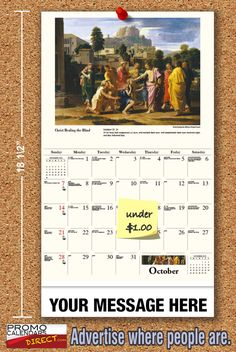 2021 Catholic Art Wall Calendars low as Fundraise for your Church or School. Promote your Business in the homes and offices of people in your area every day! Calendar 2019 And 2020, Baptism Of Christ, Calendar Activities, School Calendar, Catholic Art, Promote Your Business, Wasting Time, Fundraising, In The Heights