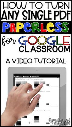 Google Classroom Teachers - If you've been searching for a way to DIGITALLY assign students a quick assessment of a math skill to drive instruction, this video tutorial is for you! via @cupcakestpt