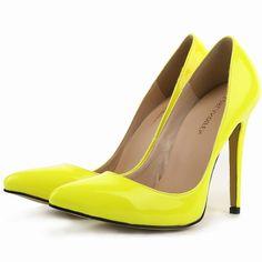 Loslandifen marke neue damen pumps high heels schuhe frau hochzeit kleid  damen spitz stiletto größe 35-42 11 cm hohe 2b7bfc551c