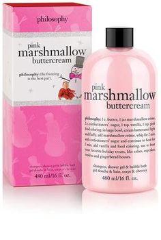 Philosophy shower gel - pink marshmellow buttercream