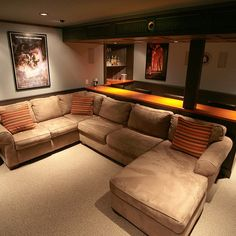 theater rooms with beds - Google Search