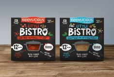 Kiddylicious Little Bistro - Fisherman's Pie & Meat Balls Packaging Best Picture For biscuits no milk For Your Taste You are looking for something, and it is going to tell you exactly what you are loo Cool Packaging, Food Packaging Design, Coffee Packaging, Bottle Packaging, Brand Packaging, Food Web Design, Design Design, Graphic Design, Biscuits Packaging