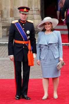Grand Duchess of Luxembourg Photos - Royal Wedding Arrivals - Zimbio