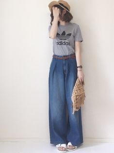 旬シルエットで大人気♡GU「バギージーンズ」着まわし7day - LOCARI(ロカリ)
