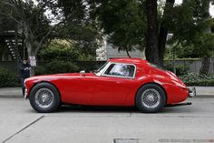 Austin-Healey Fastback - even at this cars age , it still looks fantastic .