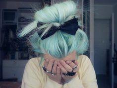 mavi renkli saçlar tumblr - Google'da Ara