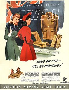 Canadian Women's Army Corps, 1943