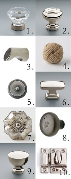 [tracery tips] cabinet knobs