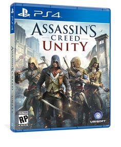 Assasin's Creed Unity Design by Shen Design Works