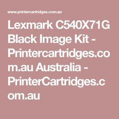 Lexmark C540X71G Black Image Kit - Printercartridges.com.au Australia - PrinterCartridges.com.au