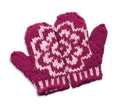 blossom mittens - I have the pdf in my email