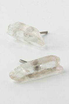 Rock Crystal Door Knobs