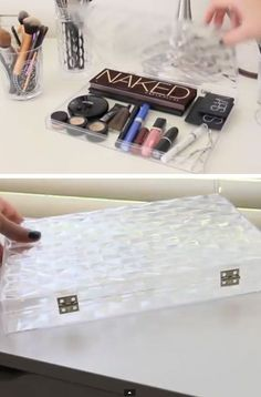 Here's a makeup organization diy vanity tip we can give you for a cleaner and tidier space: try reinventing Ferrero Rocher glass cases and use them to store your makeup. . anavitaskincare.com