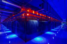 Here's a look inside the Top 10 Cloud Campuses, where the Titans of the Internet concentrate massive amounts of computing power in data center hubs. These huge campuses are where the cloud lives – the physical manifestation of the Internet. Data Center Rack, Data Center Design, Computer Center, Science And Technology News, Computer Lessons, Server Room, World Of Tomorrow, Told You So, Clouds