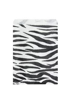 Zebra Jewelry Paper Gift Bag    Price: $2.25/pack of 100